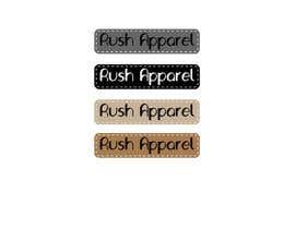 nº 15 pour Brand Logo for Rush Apparel par mannahits