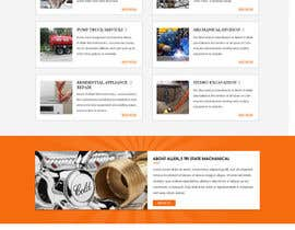 #8 for Design a Website Mockup for Mechanical Service and Repair Contractor by webidea12