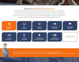 #28 for Design a Website Mockup for Mechanical Service and Repair Contractor by Poornah