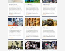 #13 for Design a Website Mockup for Mechanical Service and Repair Contractor by saidesigner87