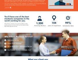 nº 29 pour Design a Website Mockup for Mechanical Service and Repair Contractor par rohan0571