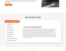 #30 for Design a Website Mockup for Mechanical Service and Repair Contractor by syrwebdevelopmen