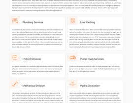 nº 31 pour Design a Website Mockup for Mechanical Service and Repair Contractor par syrwebdevelopmen