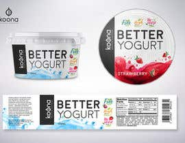 #85 for Packaging design for innovative yogurt by suthemeny