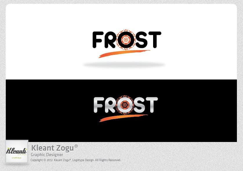 Inscrição nº 245 do Concurso para Logo Design for Frost