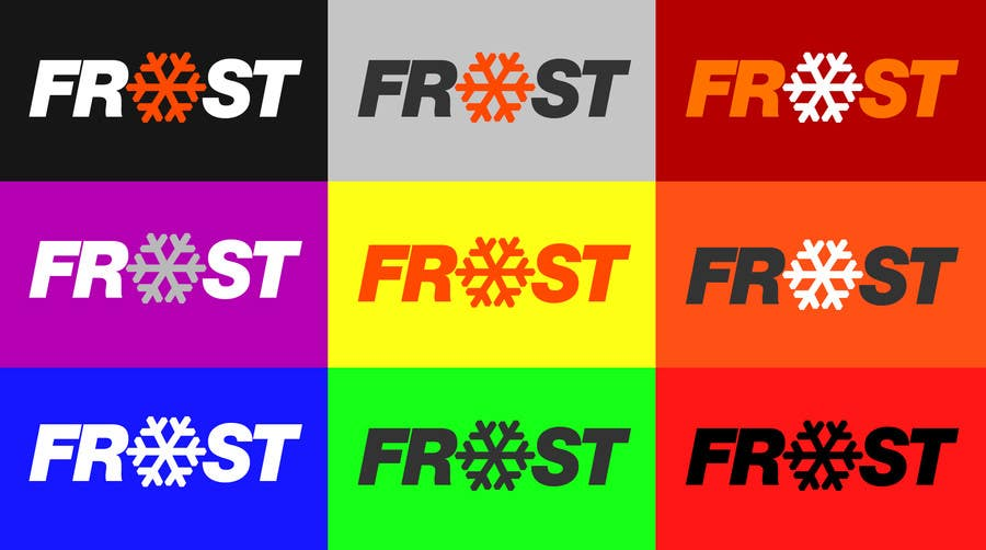 Inscrição nº 14 do Concurso para Logo Design for Frost