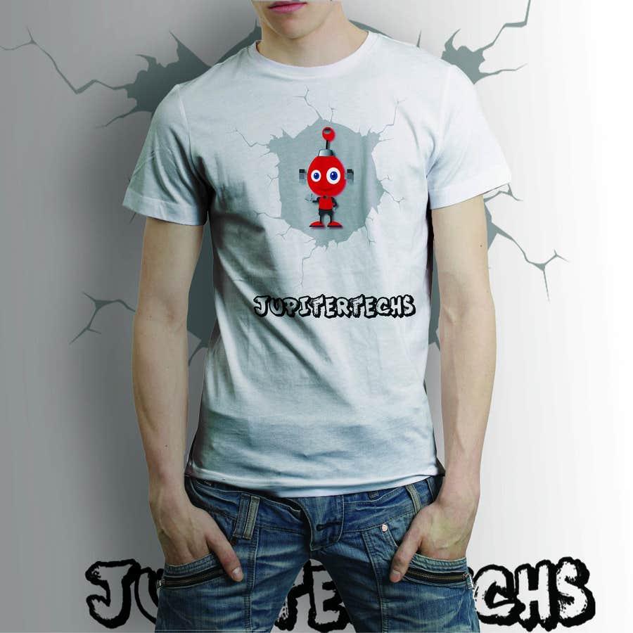 Proposition n°20 du concours Design a FUNNY TECH T-Shirt