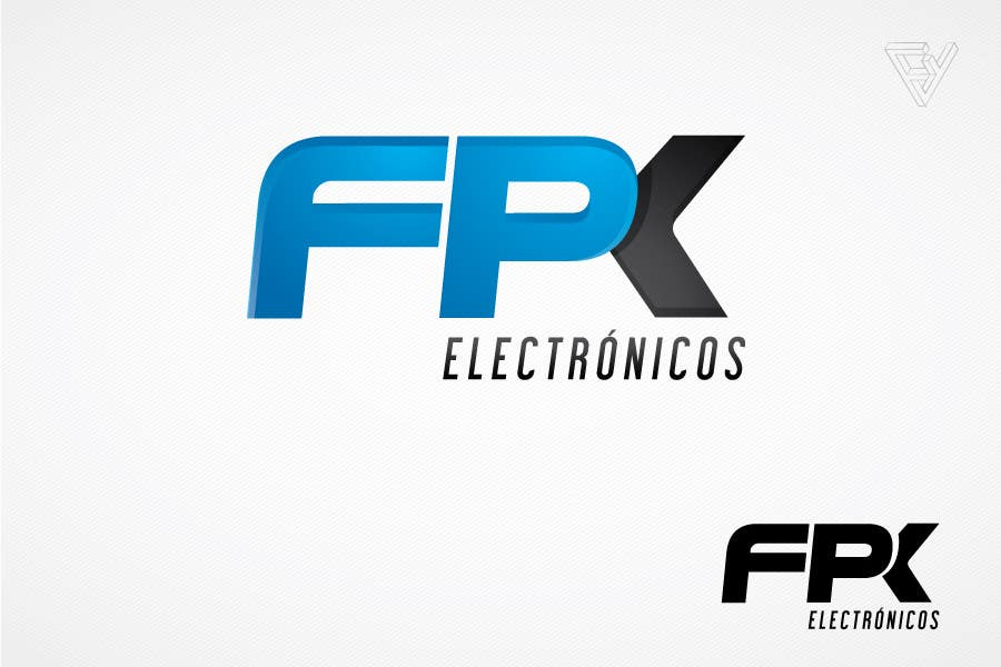 #125 for Logo Design for FPK Electrónicos by Ferrignoadv