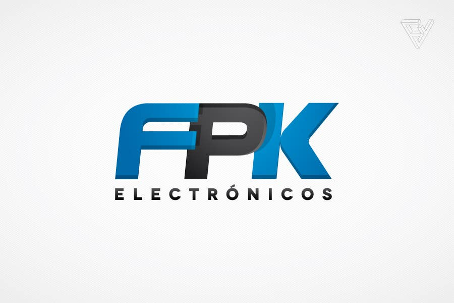 #116 for Logo Design for FPK Electrónicos by Ferrignoadv