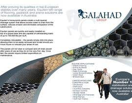 #11 untuk Brochure Design for Galahad Group Pty Ltd oleh marATTACKs