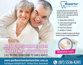 #8 for Design an Denture Clinic Advertisement by uniquegraphix