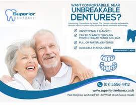 Nro 25 kilpailuun Design an Denture Clinic Advertisement käyttäjältä adnanbahrian