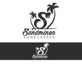 nº 87 pour Design a Logo - Sandmines Sunglasses par boaleksic