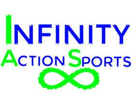 nº 28 pour Infinity Action Sports Logo par anahaddsolutions