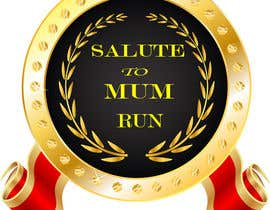 Nro 9 kilpailuun Salute to Moms Run Medal käyttäjältä skymondal