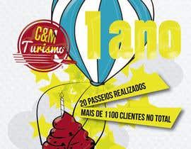 #13 for Design - Aniversário de Empresa - Turismo - 1 ano by anaisismoura