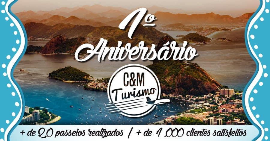Proposition n°6 du concours Design - Aniversário de Empresa - Turismo - 1 ano