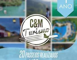#7 para Design - Aniversário de Empresa - Turismo - 1 ano por gustav0brenner