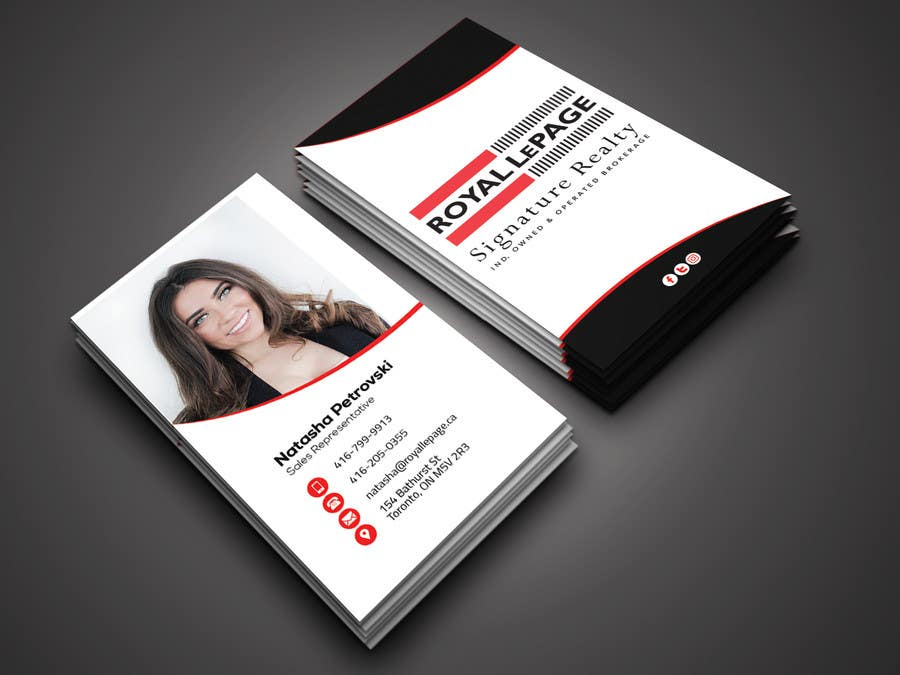 Proposition n°224 du concours Design some Business Cards
