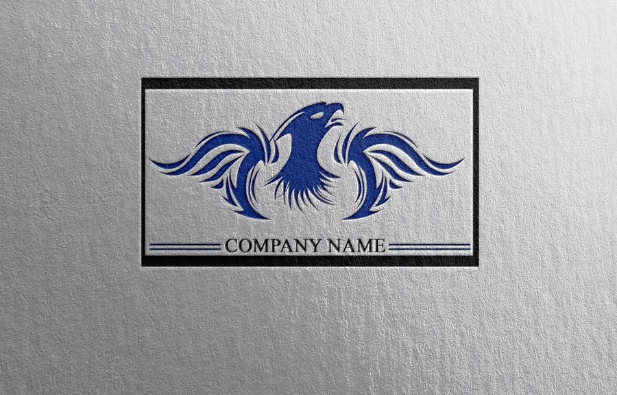 Proposition n°17 du concours I need a blue phoenix to represent my brand
