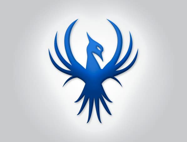 Proposition n°2 du concours I need a blue phoenix to represent my brand