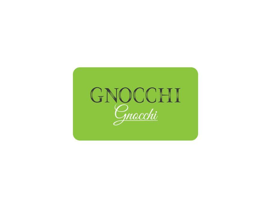 Proposition n°180 du concours Gnocchi Gnocchi Logo Design