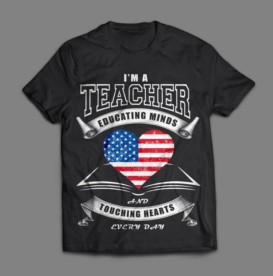66d535da Entry #18 by Quay3010 for Teacher T-shirt Design | Freelancer