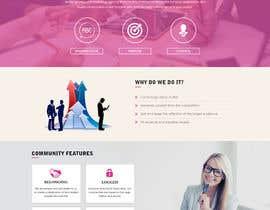 nº 2 pour Design and website Mockup par webidea12