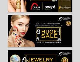 nº 1 pour Design a 3 Banner for a jewelry store par ruzenmhj