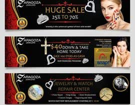 nº 12 pour Design a 3 Banner for a jewelry store par satishandsurabhi