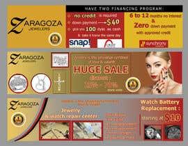 nº 11 pour Design a 3 Banner for a jewelry store par anjumonowara