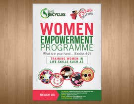 #9 for FLyer design for women empowerment by teAmGrafic