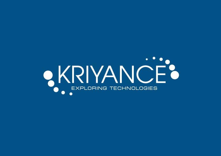 Inscrição nº                                         4                                      do Concurso para                                         Design a Logo for kriyance