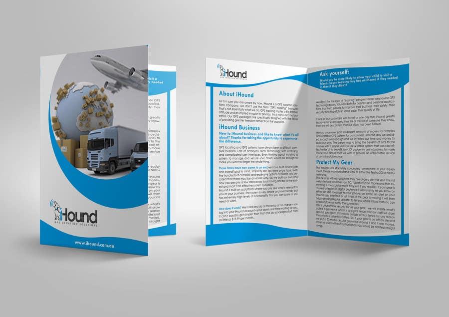 Konkurrenceindlæg #                                        3                                      for                                         Design a Brochure for iHound