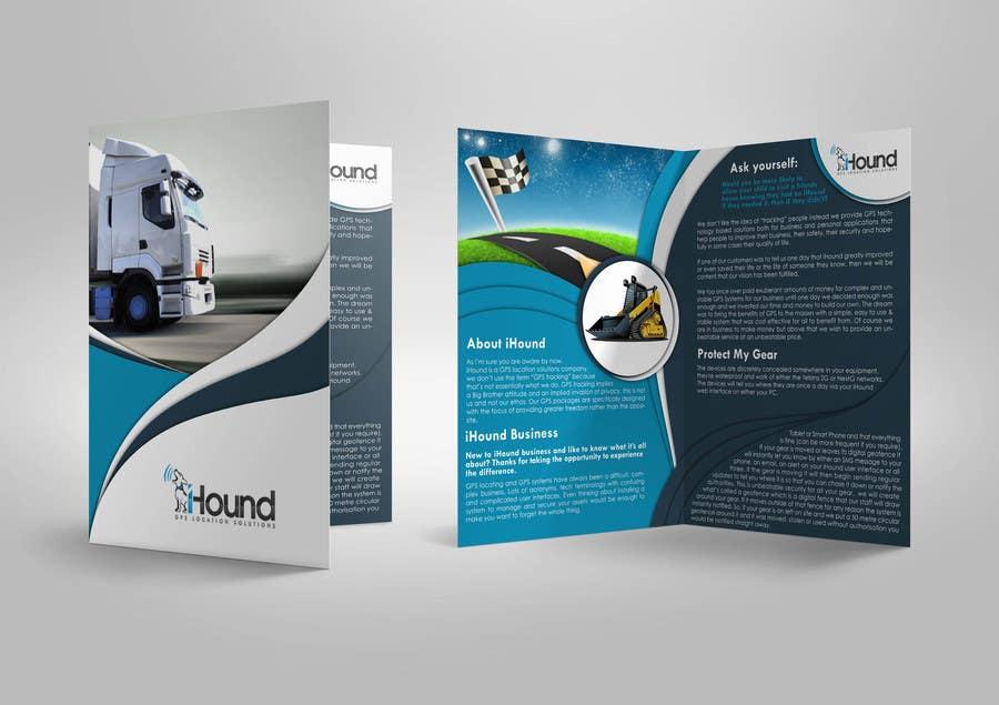 Konkurrenceindlæg #                                        5                                      for                                         Design a Brochure for iHound