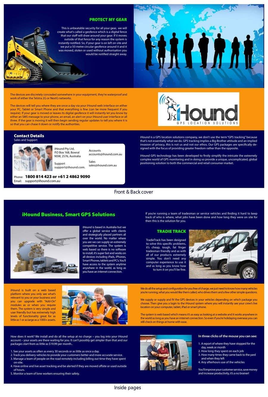 Konkurrenceindlæg #                                        14                                      for                                         Design a Brochure for iHound