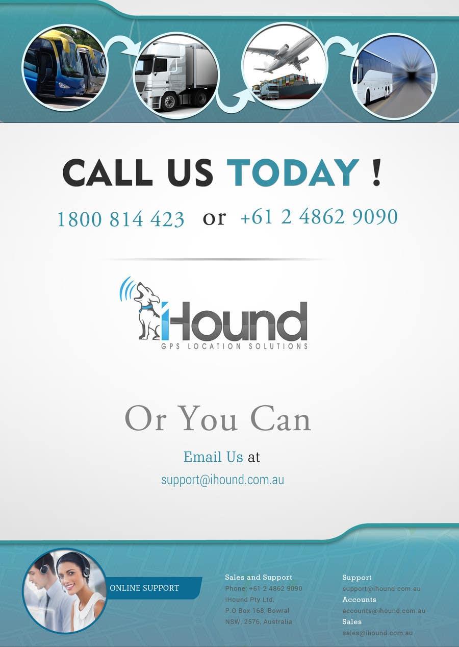 Konkurrenceindlæg #                                        16                                      for                                         Design a Brochure for iHound