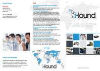 Graphic Design Konkurrenceindlæg #18 for Design a Brochure for iHound