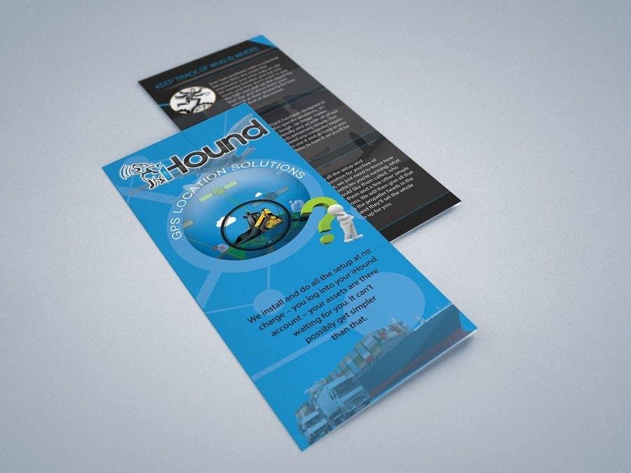 Konkurrenceindlæg #                                        22                                      for                                         Design a Brochure for iHound