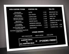 nº 62 pour Coffee Shop Menu Design par ImranMahmudSaif
