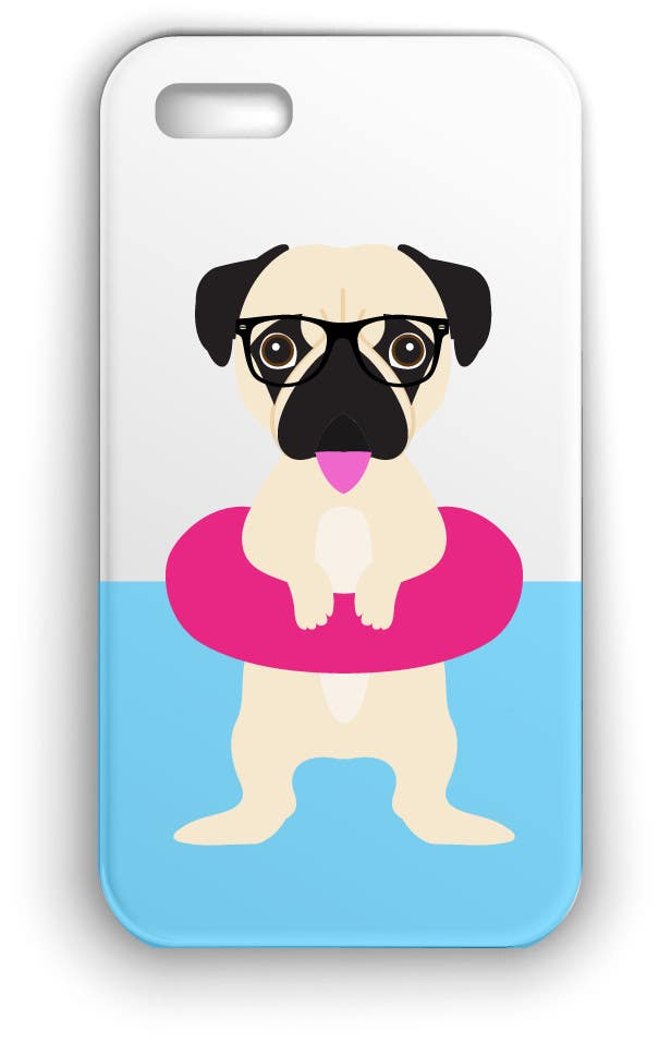Proposition n°3 du concours Swimming Pug Illustration Required