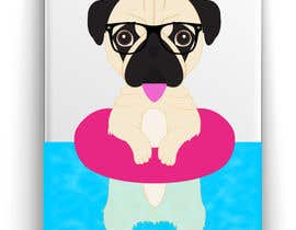 #12 for Swimming Pug Illustration Required by ricardohc1988