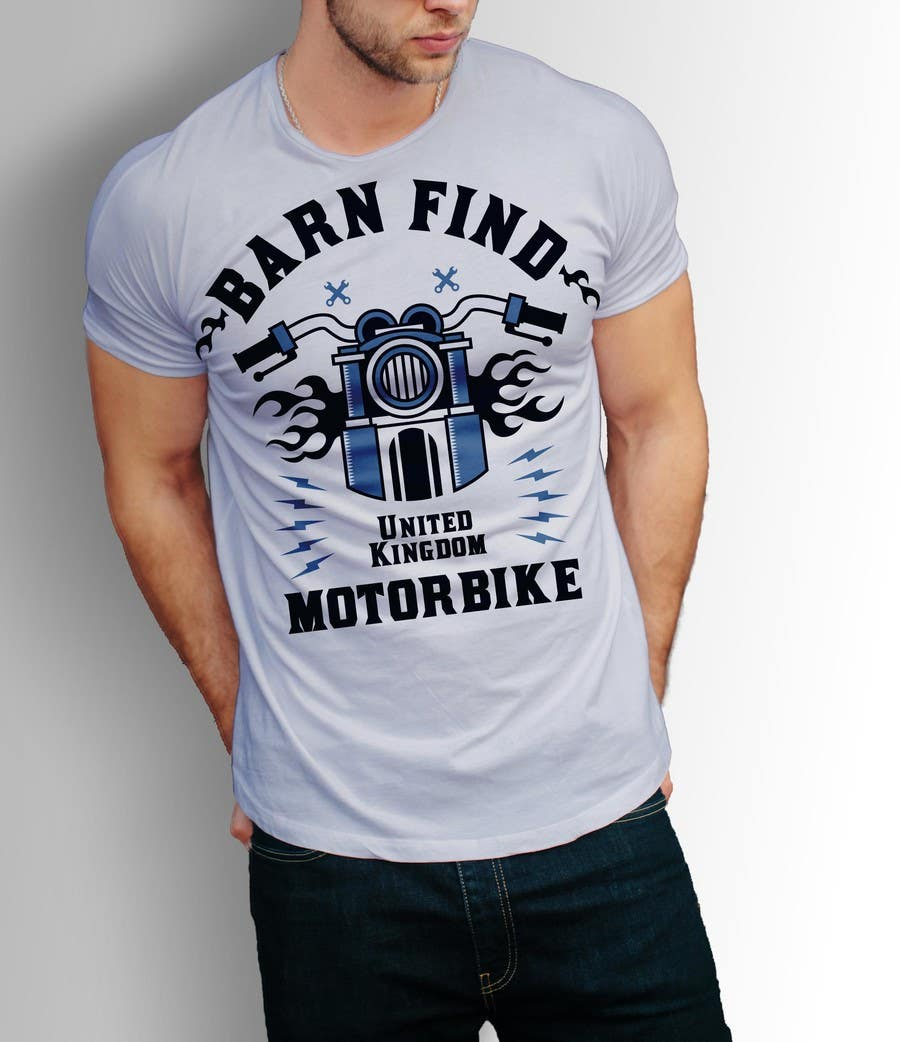 Proposition n°28 du concours t-shirt design for classic car and motorcycle restoration brand