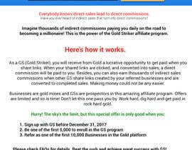 #12 for Landing page for Gold by developer97
