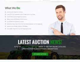 nº 5 pour Design a Website Mockup for Auctioneers par webmastersud
