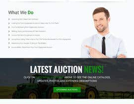 nº 20 pour Design a Website Mockup for Auctioneers par webmastersud