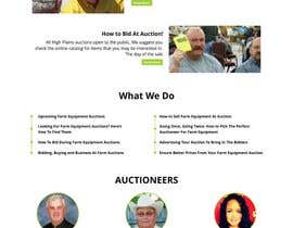 #1 for Design a Website Mockup for Auctioneers by ridsz