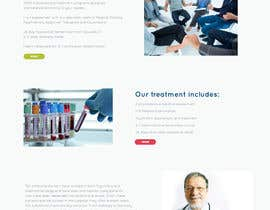 nº 15 pour Design Homepage design for my website par vidovicm