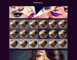 nº 46 pour Glam Makeup Website par DannicStudio