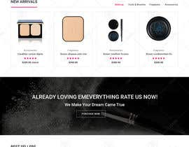 nº 33 pour Glam Makeup Website par doomshellsl